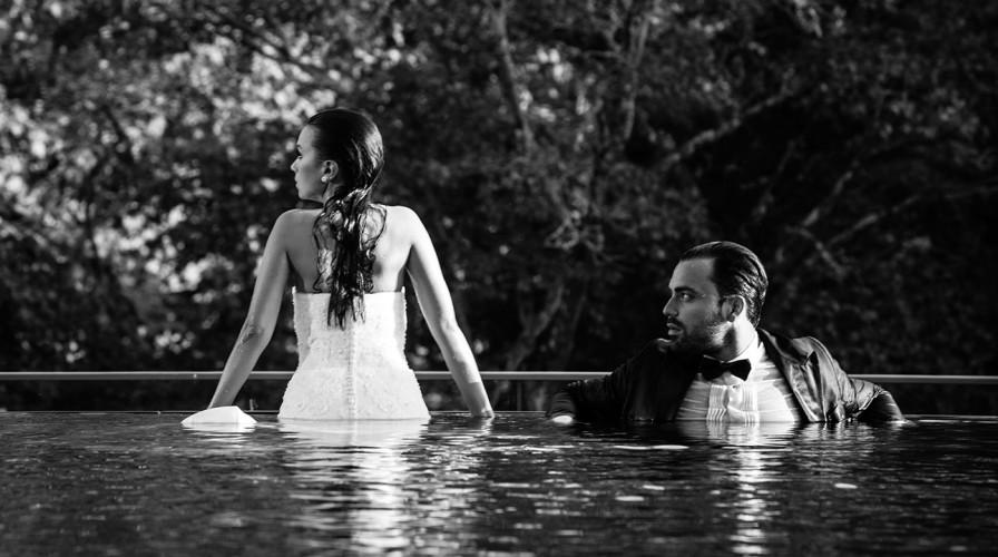 Hochzeitsfotograf Mariano mit Roksana & Bojan in park Hotel Weggis