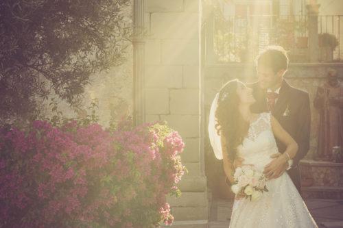 In der Hügelstadt Taormina Sizilien heiraten,