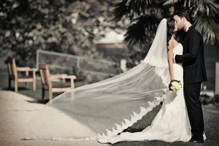 Hochzeitsfotos in Park Hotel Weggis
