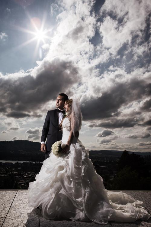 Fotograf für Hochzeitsbilder im Hotel Schweizerhof Luzern,