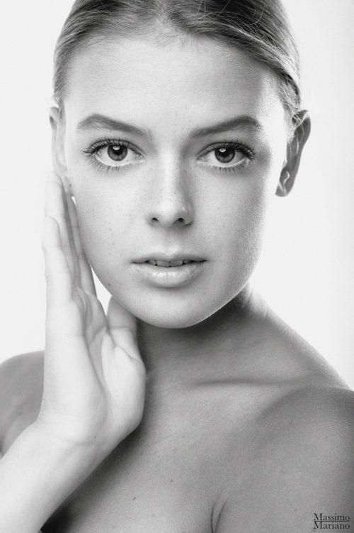 Beauty Aufnahmen im Studio