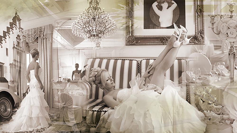 Hochzeitsfotos Collage bei Mariano