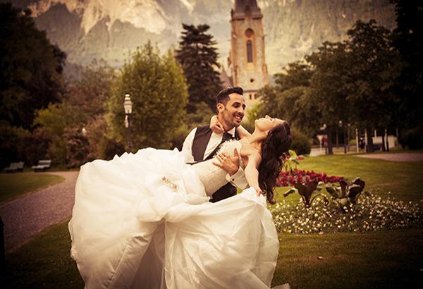 Hochzeitsfotos in Chur bei Mariano