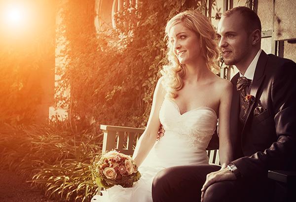 Hochzeitsfotos in Villa Boveri in Baden