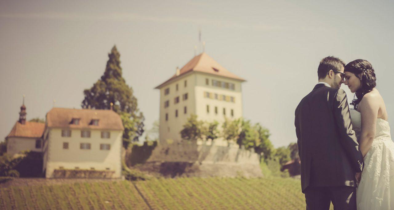 Aline & Stefan mit Hochzeitsfotograf Mariano in Schloss Heidegg