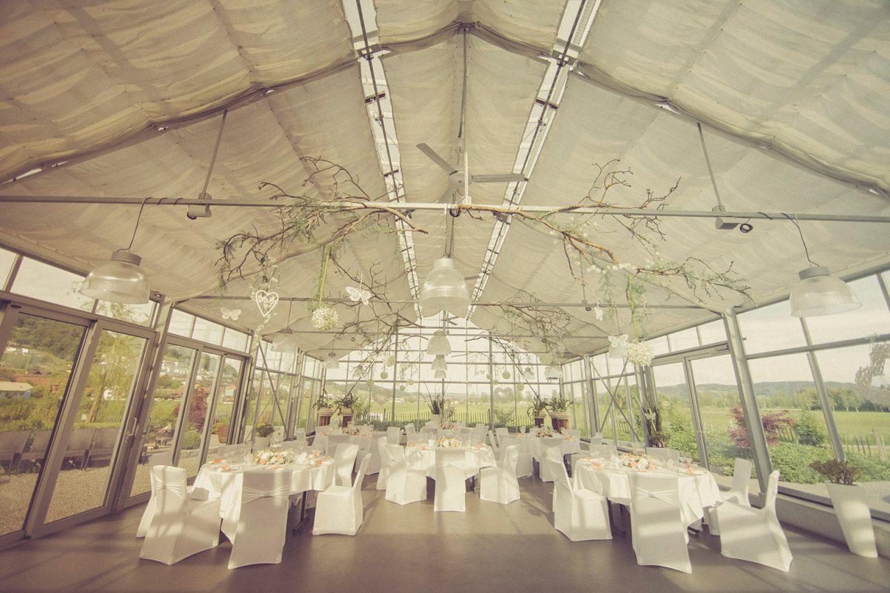 Aline & Stefan Hochzeit Dekoration