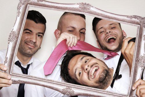 Selfie Fotobox bei Hochzeitsfotograf Mariano