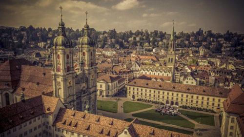 heiraten in der Kathedrale St. Gallen, Hochzeitsfotograf Ostschweiz,