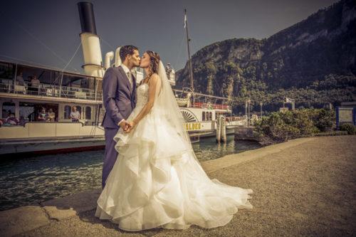 Hochzeitsfotograf Luzern, Trauung im Hotel Schweizerhof,