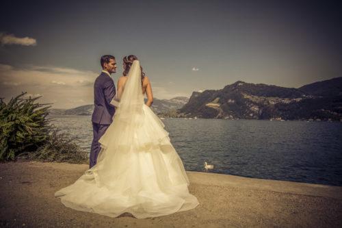 Hochzeitstag in Luzern,