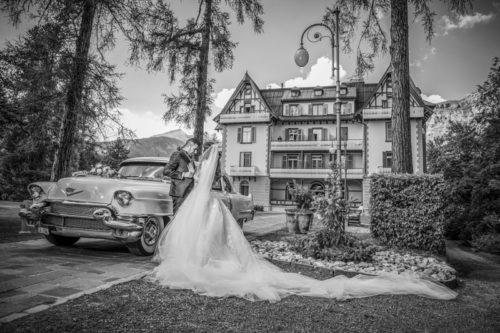 Traumhochzeit Grand Resort Waldhaus Flims