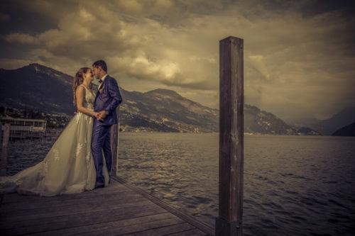Hochzeitsfotograf Luzern, Freie Trauung Seehotel Kastanienbaum