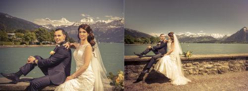 Serena & Toni Hochzeit Fotograf in Schloss Schadau