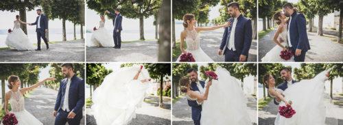 Hochzeitreportage in Schloss Rapperswil bei Fotograf Mariano