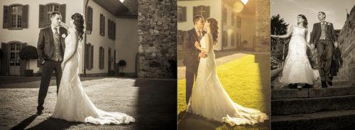 Serena & Toni Hochzeit Fotograf in Schloss Spiez