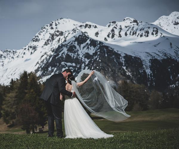 Hochzeit Album in Lenzerheide